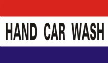 HAND CAR WASH - 5 X 3 FLAG